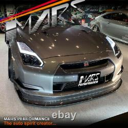 Update style LED DRL Sequential Indicators Head lights for Nissan GTR R35 08-13