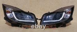 Vauxhall Insignia 09 On Black Light Bar Drl Daytime Running Headlights E Marked