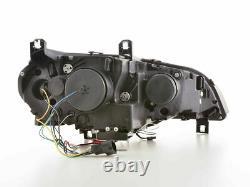 Xenon Headlights LED Daytime running lights FOR BMW X5 E70 06-10 in BLACK