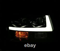 07-14 Tahoe/suburban/avalanche Drl/activation Light Black Projector Phares