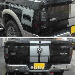09-18 Dodge Ram Truck Superflux Led Upgrade Smoke Black Tail Lampe De Frein