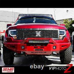 13-14 Ford F150 D3s Hid Modèle Noir Led Light Bar Halo Drl Projecteur Phares