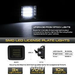 15-17 Ford F-150 C-forme De Signal Oled Tail Lampe Fumée Smd Led Plaque D'immatriculation Lumière