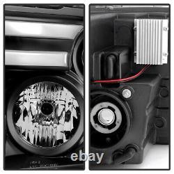 2009-2018 Dodge Ram 1500 2500 3500 Led Turn Lights Drl Tube Projecteur Phares