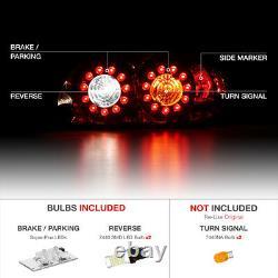 360 Degree Smd Backup 04-08 Mazda Rx8 Rx-8 Shinka Led Jdm Feux De Queue De Frein Arrière