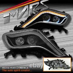 3d Drl Indicateur Séquentiel Feux De Tête Pour Toyota Landcruiser Prado 14-17 Fj150