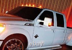 5x Pick-up De Camion Van Amber Amber Amber Ajouter Sur Le Toit Supérieur En Cours D'exécution Cabine Light Drl