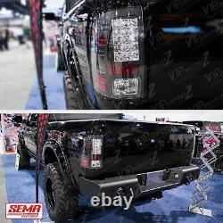 A L'avenir! Pour 13-18 Dodge Ram Ram Pickup 1500 2500 3500 Black Led Tail Brake Light