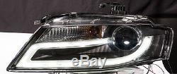 Audi A4 B8 2008-2011 Bar Black Light Led Drl Lumière Du Jour Feux Phares