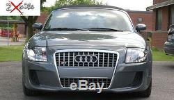 Audi Tt 1999-2007 8n Led Noir Drl Lumière Du Jour Feux Diable Eye Phares
