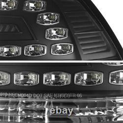 Black Left+right Smd Tail Lampes De Frein À Led Assemblage 08-09 Pontiac G8 Gxp/gt