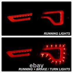 Black Smoke Full Set Neon Tube Lumière De Course Led Tail Lampe 14-20 Chevy Impala