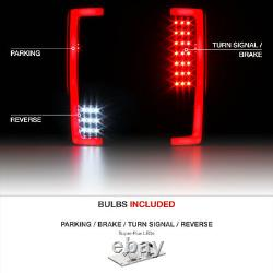 Black-out 2017-2019 Ford F-250 F-350 Pickup Light Bar Led Inverser Tail Lights