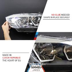 Bmw 3 E90 E91 LCI Halogen Bj Iconic Lights Kit 1.1 Led Anneau Angel Eyes Halo