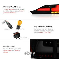 Darkest Smoke Full Led Tail Lights Fit 2011-2013 Lexus Ct200h Neon Tube Stationnement