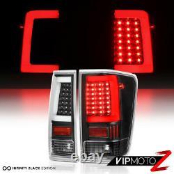 Dernière Design Strip Oled 3d Black Led Tail Lights Pour 2004-2015 Nissan Titan