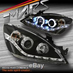 Drl & Ccfl Angel-projecteur Yeux Lumières Pour Mitsubishi Lancer Ch 03-07