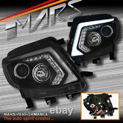 Drl Projecteur Led Séquentielle Indicateur Tête Lumières Pour Ford Ranger Px Mk1 11-15