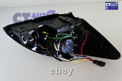 Feux Noirs De Tête De Projecteur De Jour De Led Drl Pour 08-11 Ford Focus Xr5