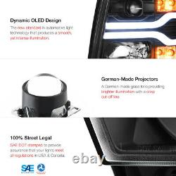 Fiber Optic Tube 2007-2013 Chevy Silverado 1500 2500 3500 Oled Drl Phares