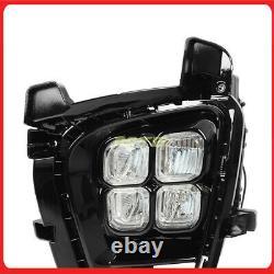 Fog Light Led 4 Eyes On Off Switch Wire Harness Pour 19+ Kia Sorento Foglight