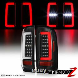 Full Led Pour 15-21 Chevy Colorado Pickup Black Neon Tube Tail Lampadaire Paire