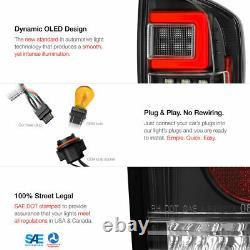 Full Led Pour 16-21 Toyota Tacoma Neon Tube De Stationnement Feux De Queue De Frein Led Lampes