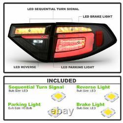Full Led Seque Light Pour 08-14 Subaru Impreza Wrx Hashback Noir Effacer