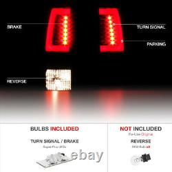 Fumée Noire Pour 00-06 Chevy Suburban/tahoe/yukon Neon Tube Led Tail Brake Light