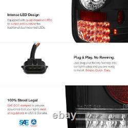 Infinity Black Led Signal De Frein Tail Lampe 97-05 Ford F150 Step/flareside Bed
