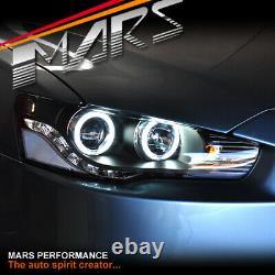 Jdm Ccfl Varis Halo Drl Led Tête Lumières Pour Mitsubishi Lancer Evo Cj Cf 07-18 X