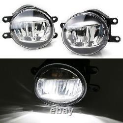 Jdm Style Oem-spec 15w Led Fog Light Kit Pour 2018-2020 Toyota Camry Se & Xse