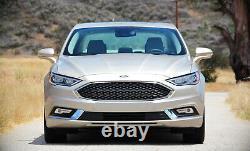 Lampes De Conduite De Brouillard À Led Oem-spec Complètes Avec Câblagebezel Pour 2017-2018 Ford Fusion