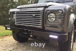Land Rover Defender 90 110 Pare-chocs Avant Avec Led Intégrée Drl Lights Da8600