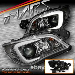 Led 3d Stripe Drl Head Lights Pour Subaru Impreza Wrx Sti Gd 05-07 Type Xenon