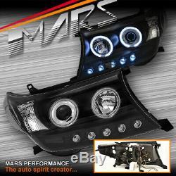 Led Drl Ccfl Angel Eyes Projecteur Tête Lumières Pour Toyota Landcruiser 200 Series