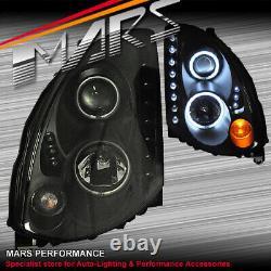 Led Drl - Halo Projecteur Head Lights Pour Nissan Infiniti Skyline G35 V35 Coupé