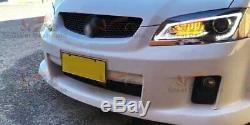 Led Drl Head Light Avec Indicateur Séquentiel Pour Holden Commodore Ve 1 & 2 2006-2013