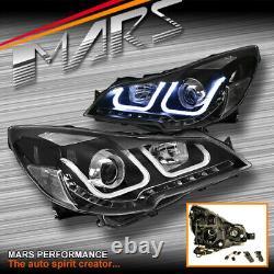 Led Drl Projecteur Phares Pour Subaru 5gen Liberty Legacy Outback 09-15