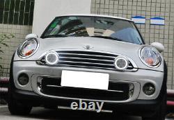 Led Rallye Conduite Halo Anneau Feux De Jour Pour Mini Cooper (chrome)
