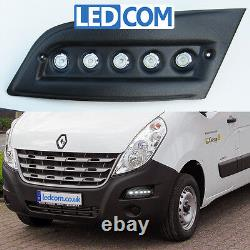 Lights Daytime Lights Drl Led Pod Kit Renault Master Mastorhome Noi