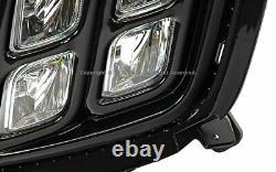 Lumière Led 4 Brouillard Yeux Noir Pour 16-18 Kia Sorento Avec Harnais De Remplacement Direct