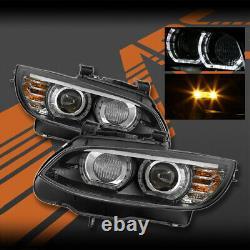 M3 M4 Style Led Drl Projecteur Lumières Pour Bmw E92 E93 Pre LCI 06-09 3-série 3
