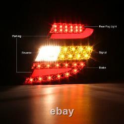 M-benz W204 11-14 Smoke/red Signal De Frein À Queue À Led Ultra Lumineux C300/c350