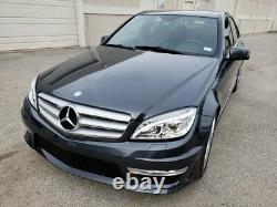 Mercedes Benz C63 Style Pare-choc Av Avec Led Drl Pour 08-14 W204 C Classe Avec Pdc