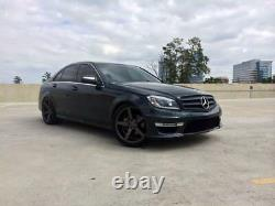Mercedes Benz C63 Style Pare-choc Av Avec Led Drl Pour 08-14 W204 C Classe Witho Pdc