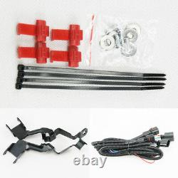Mini Cooper Led Rally Feux De Conduite Halo Ring Angel Eyes Drl Black Shell Lampes