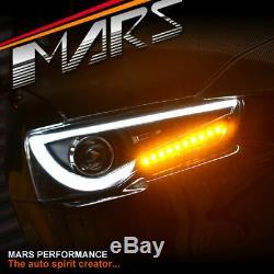 Neon Led Drl Projecteur Tête Lumières Pour Cj Mitsubishi Lancer Evolution Cf Evo X