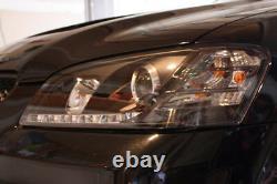 Noir 2008 2009 2010 Pontiac G8 Led Drl Projecteur Phares Avec Feux De Circulation