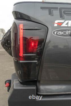 Oe Usine Fit Pour 16-19 Toyota Tacoma Led Drl Light Bar Feux Arrière Fumée